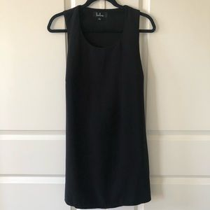 Lulus Cutout Black Shift Dress/Size Large
